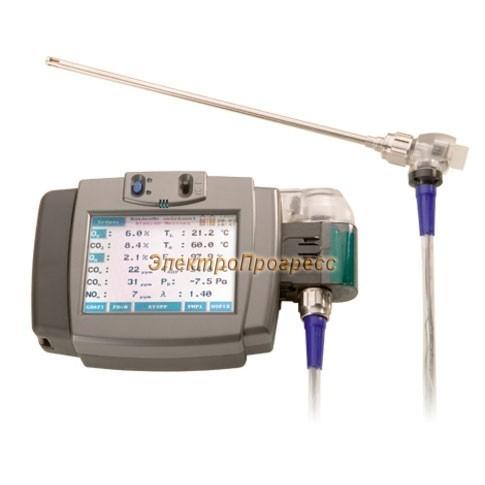 Wöhler A600 - анализатор дымовых газов в базовой комплектации с дополнительным оснащением