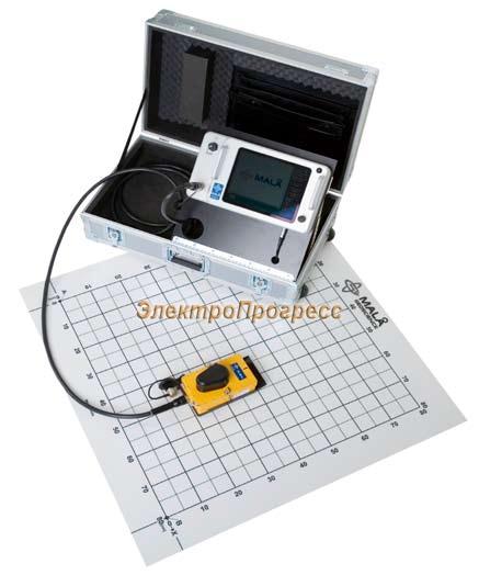 Георадар Mala GPR CX Concrete Imaging System