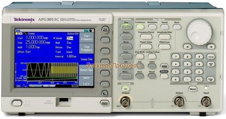 AFG3011C - универсальный генератор сигналов