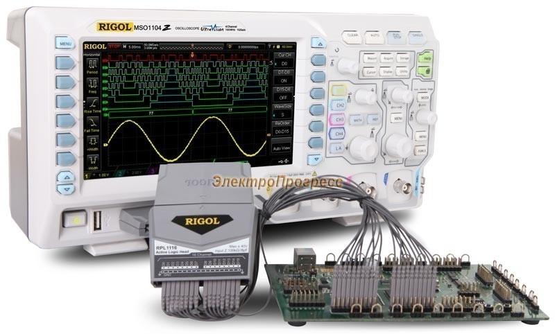 Цифровой осциллограф MSO1074Z с опцией встроенного генератора