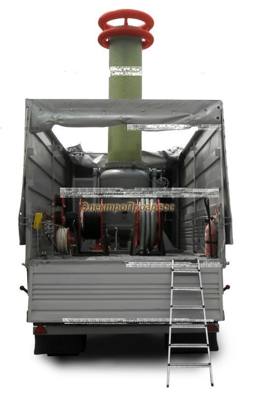 ТИОГ-350 - трансформатор испытательный однофазный газонаполненный