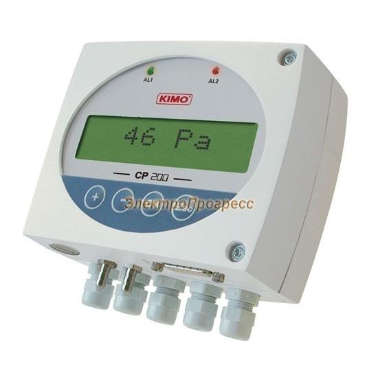 Датчики дифференциального давления с настраиваемым диапазоном измерения, оснащенные сигнализацией CP 200