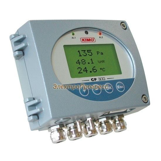 Датчики дифференциального давления с настраиваемым диапазоном измерения, оснащенные сигнализацией CP 300