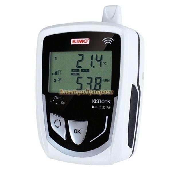 Беспроводные регистраторы температуры и влажности КН 210 RF (класс 210)