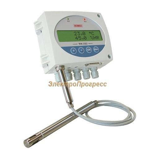 Датчики влажности и температуры с конфигурируемыми диапазонами измерения с сигнализацией TH 200