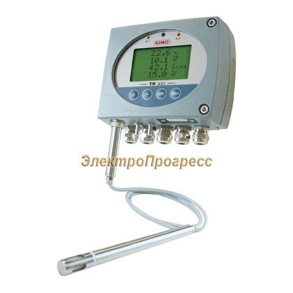 Датчики влажности и температуры с конфигурируемыми диапазонами измерения и сигнализацией TH 300
