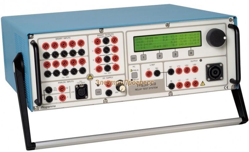 FREJA 300 / FREJA 306 Система тестирования реле