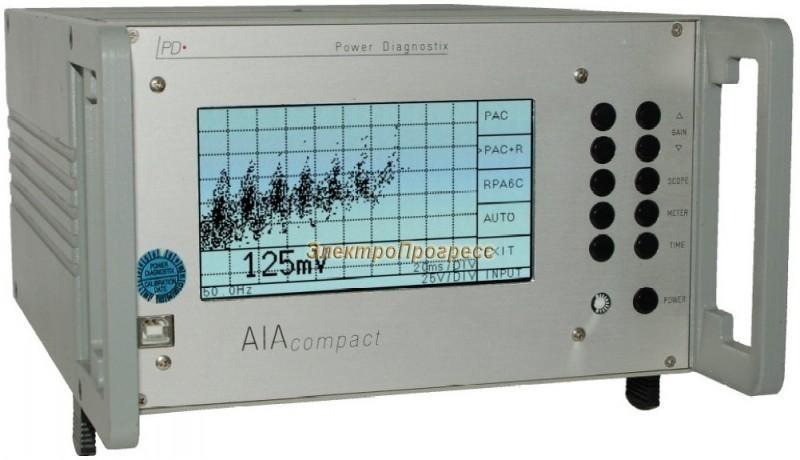 Портативный прибор для измерения частичных разрядов AIAcompact