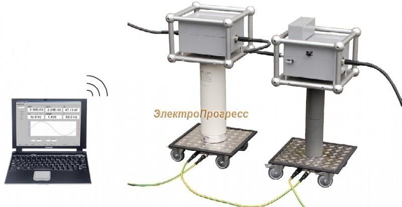 Высоковольтная система диагностики частичных разрядов ICMflex