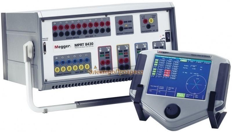 MPRT Испытательная система проверки релейной защиты