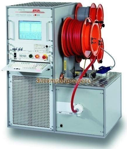 PHG 70 TD/PD Система испытаний и диагностики кабелей