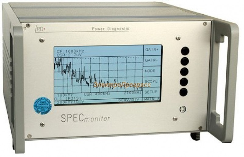 SPEC monitor - анализатор частичных разрядов