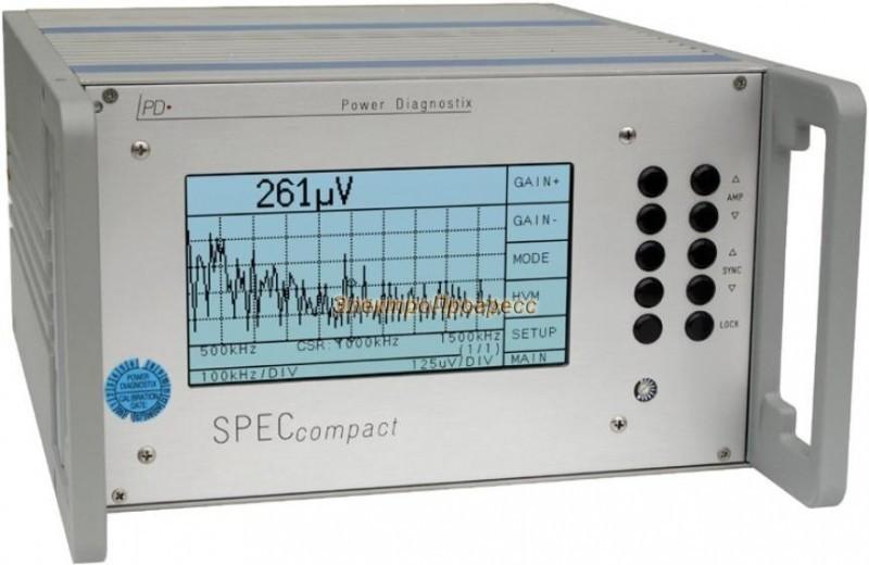 SPEC compact - детектор частичных разрядов