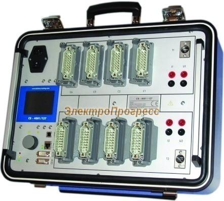 Система измерения емкости АКБ CS 4001