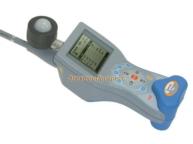 MI 6401 ST Poly измеритель температуры и скорости воздушного потока, влажности, освещенности и яркости (станд. комплект)