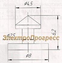Лента ЛБ - 10 (К226) и кнопка КБ - 1 (К227)