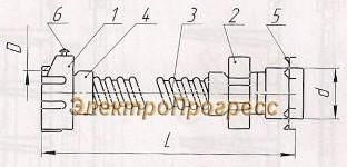 Гибкие вводы К1080 - К1088