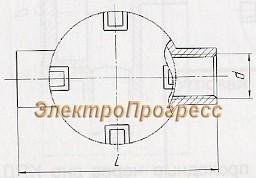 Коробки тройниковые с ответвлением через дно КТД