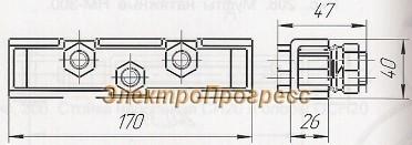 Зажим тросовый К676