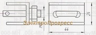 Зажим тросовый ЗТ - 5КП