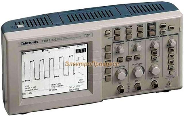 TDS1002B - цифровой осциллограф