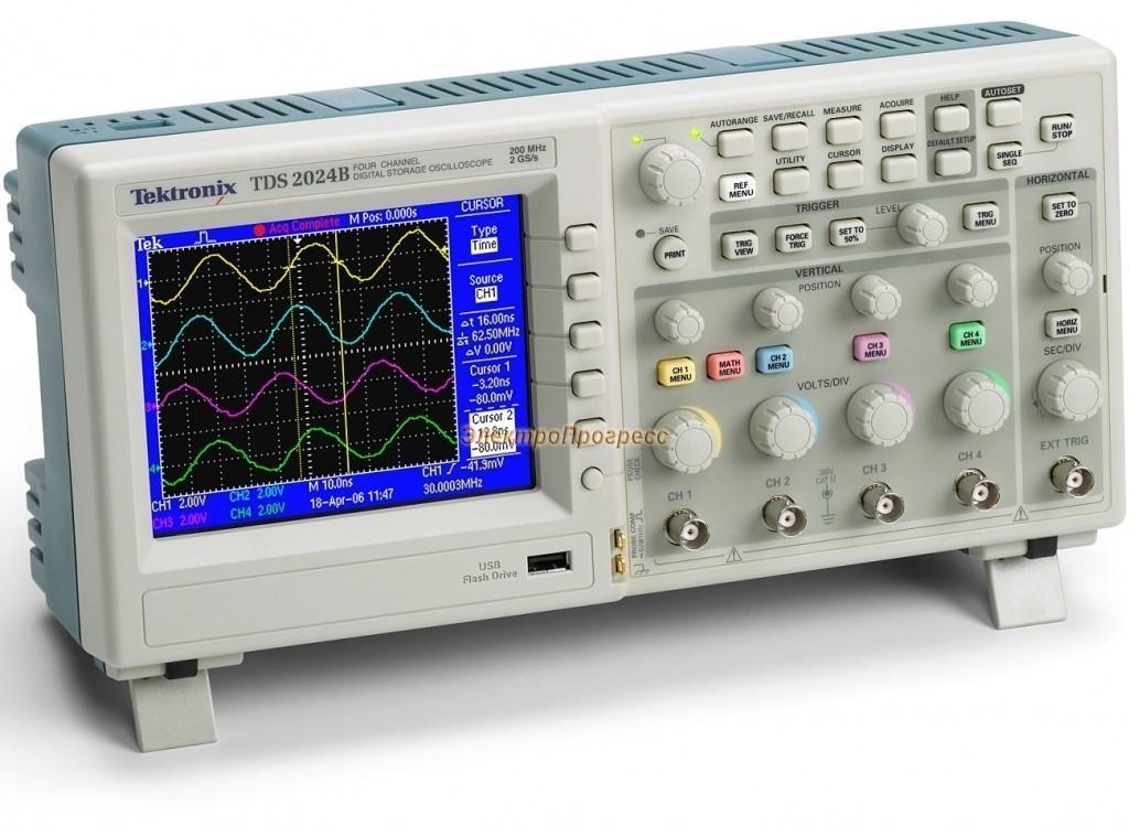 TDS2024B - цифровой осциллограф