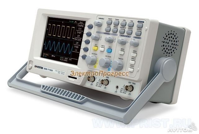 GDS-71042 - цифровой осциллограф