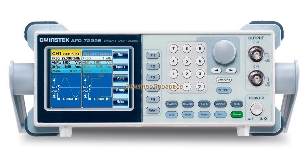 AFG-72225 - генератор сигналов специальной формы