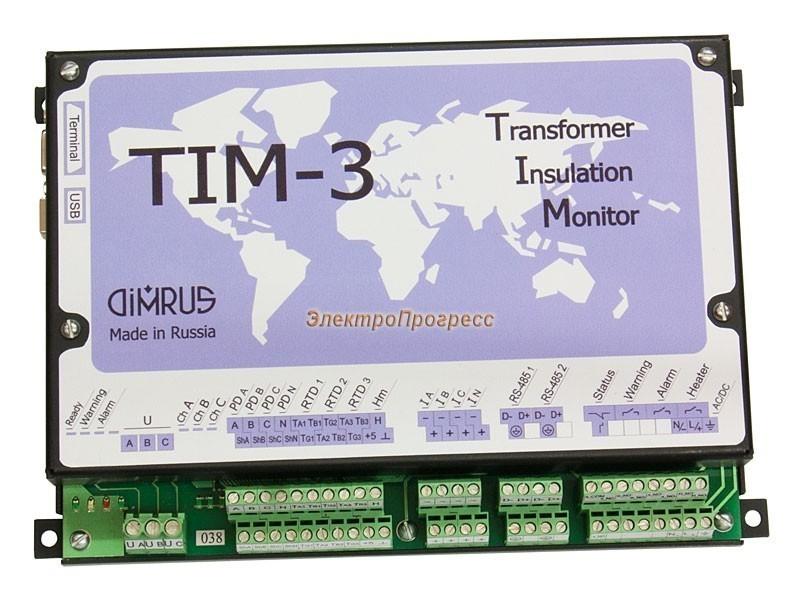 TIM-3 – система диагностического мониторинга силовых трансформаторов 110 ÷ 330 кВ