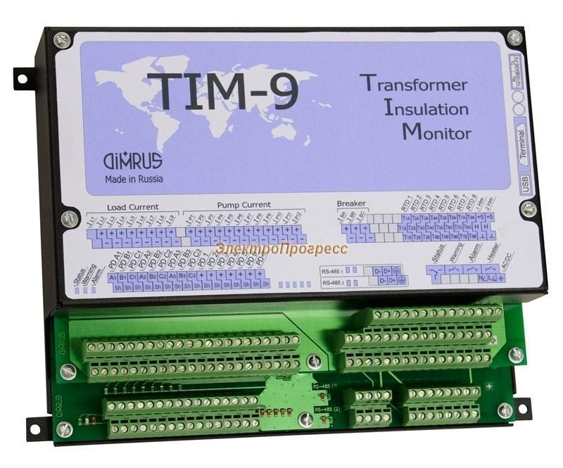 TIM-9 – система диагностического мониторинга мощных силовых трансформаторов и автотрансформаторов
