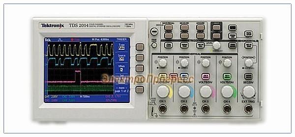 TDS2014B - цифровой осциллограф