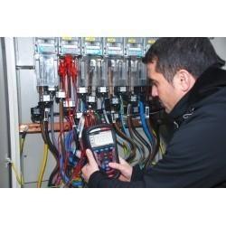 Анализатор качества электроэнергии класса А Metrel MI 2892 (комплект с клещами А1281 0,5/5/100/1000 А)