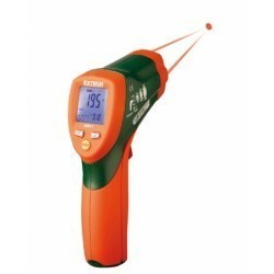 Extech 42511 - Инфракрасный термометр с двойным лазером на 600°С