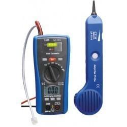LA-1014 - 2 в 1: кабель тестер + мультиметр