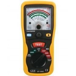 DT-5503 - аналоговый тестер изоляции и электропроводимости