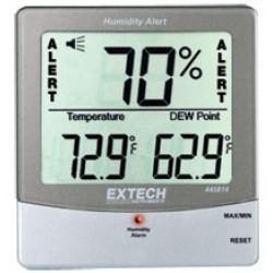 Extech 445814 - Гигротермометр, измеряющий влажность, температуру и точку росы
