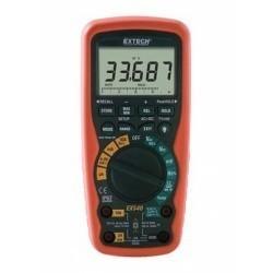 Extech EX540 - Промышленный мультиметр/регистратор данных TRUE RMS с беспроводным интерфейсом ПК для работы в тяжелых условиях + измерение температуры