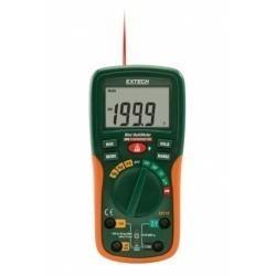 Extech EX210 - Цифровой мини мультиметр с инфракрасным термометром