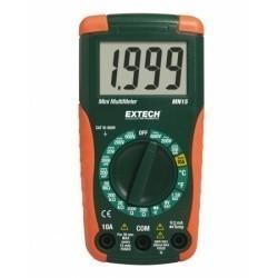 Extech MN15 - Цифровой мини-мультиметр с ручной настройкой дипазонов измерений + измерение температуры