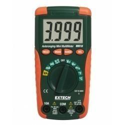 Extech MN16 - Цифровой мини-мультиметр с автоматической настройкой диапазонов измерений + измерение температуры