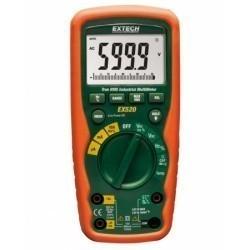 Extech EX520 - Промышленный мультиметр TRUE RMS (разрядность 6000) для работы в тяжелых условиях + измерение температуры