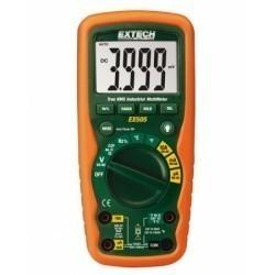Extech EX505 - Промышленный мультиметр TRUE RMS для работы в тяжелых условиях + измерение температуры