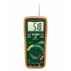 Extech EX470 - Цифровой мультиметр TRUE RMS с автоматическим переключением диапазонов + ИК термометр