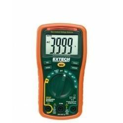 Extech EX330 - Цифровой минимультиметр с автоматическим переключением диапазонов измерений + индикатор напряжения + датчик температуры