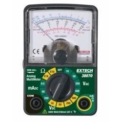 Extech 38070 - Аналоговый мини-мультиметр