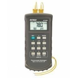 Extech 421509 - Измеритель температуры-регистратор данных с сигналом