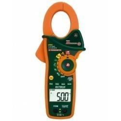 Extech EX820 - Токоизмерительные TRUE RMS клещи переменного тока на 1000А /DMM + ИК термометр