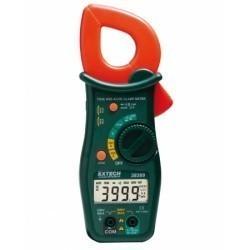 Extech 38389 - Токоизмерительные True RMS клещи на 600А с функцией измерения температуры