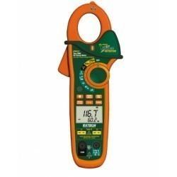 Extech EX623 - Токоизмерительные TRUE RMS клещи на 400А с двойным входом + ИК термометр и NCV