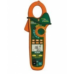 Extech EX622 - Токоизмерительные TRUE RMS клещи на 400А с двойным входом + ИК термометр и NCV